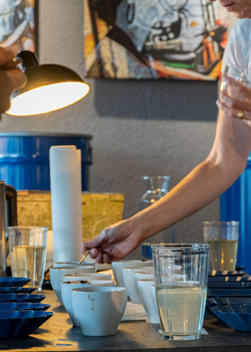 Cupping Q Kaffee Karlsruhe